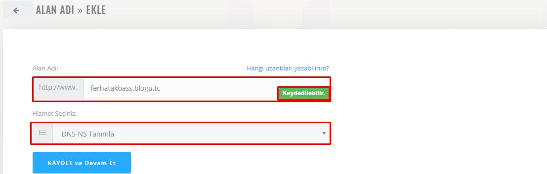 Ücretsiz domain nasıl alınır